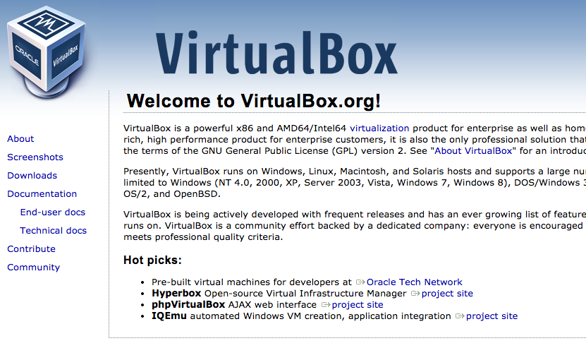 MacにVitualBoxを利用してLinuxを導入する