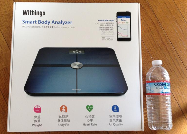 Withings WS-50 スマート体重計を購入したので感想を。。