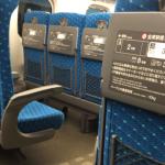 18:44豊橋発ひかり東京行き 金曜日の自由席混雑状況