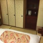 千里中央ホテルの和室に泊まった