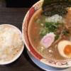 三ノ宮駅で我流本舗でラーメンを食べる