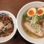 京都伊勢丹の10階では「高槻きんせい」のラーメンが食べれる様になった。