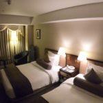 IHG ANA京都クラウンプラザにて宿泊する / 5階 ツインルーム