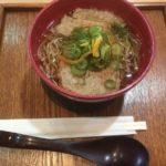 羽田空港で食べるソバ@羽田空港第三ベイサイド