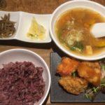 新大阪駅の「ケラケラ」で日替わりランチを食べる