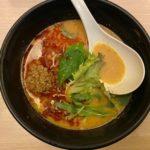 担々麺をTOKYO 豚骨 BASEで食べる @品川駅