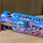 上海ディズニーランドで販売していた大きなトラックのおもちゃの連結部を「アレ」で簡単に修理する